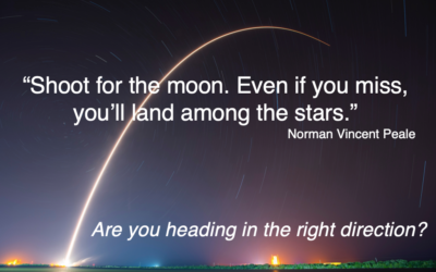 Are you heading in the right direction?