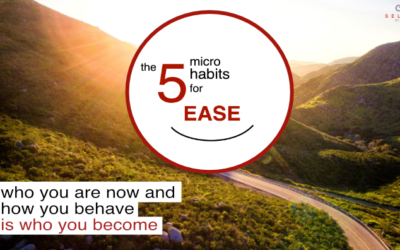Introducing The 5 Micro-Habits For Ease: How Lessons Learnt From The Pandemic Apply To Your Personal Life