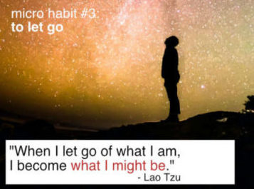 Part 3/5: The Easiest Way to Let Go: Transforming Theory into Practice